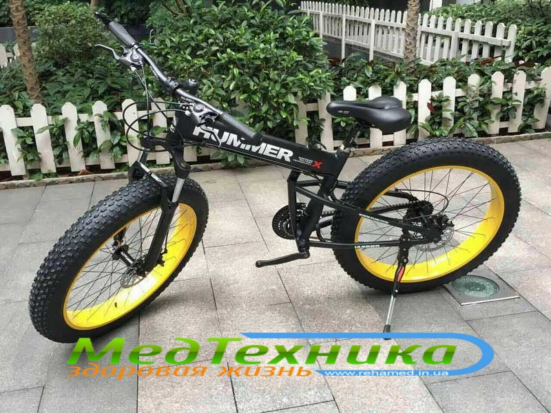 Электровелосипед HUMMER ELECTROBIKE FOLDABLE